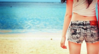 How to make denim shorts