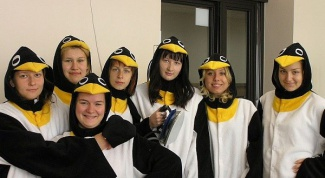 Как сшить костюм пингвина