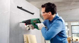 Как легче просверлить бетон
