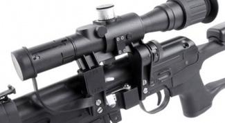 How to set an optical sight