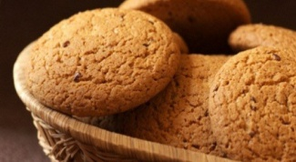 Oatmeal cookies: a quick recipe
