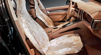 How to sew covers for car seats