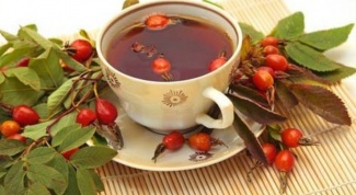 As a decoction of rose hips affects the pressure