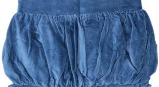 Как сшить юбку-фонарик