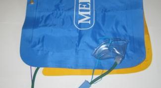 Как наполнить кислородную подушку?