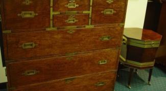 Как отреставрировать шкаф