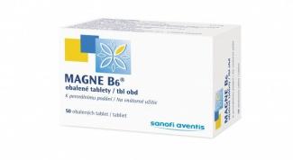 Магне B6: инструкция по применению
