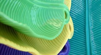 Как нанести узор на полимерную глину