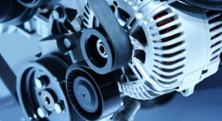 The principle of operation of alternator