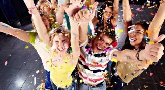 Праздничные конкурсы для девочек-подростков