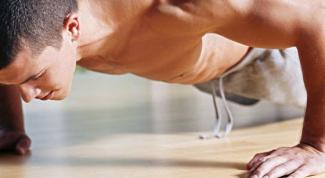 На какие мышцы, кроме рук, действуют отжимания