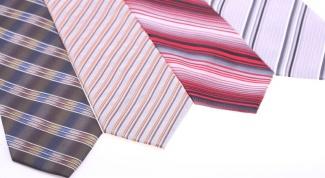 С чем носить галстуки нестандартных расцветок