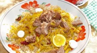 Шавля - готовим блюда узбекской кухни