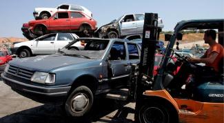 Как сдать авто в утиль