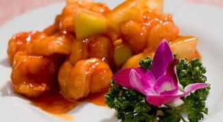 Праздничная закуска: креветки в сладко-остром соусе