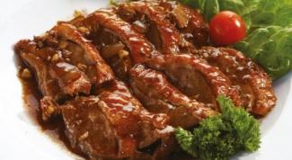 Как правильно тушить мясо