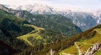 Какие горы есть на территории Германии