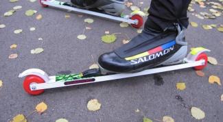 Как поставить крепления на лыжероллеры