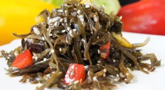 Несколько рецептов из сушеной морской капусты