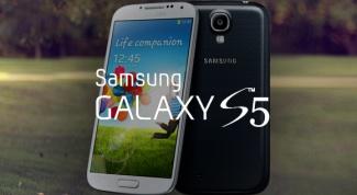 Какой он? Samsung Galaxy s5