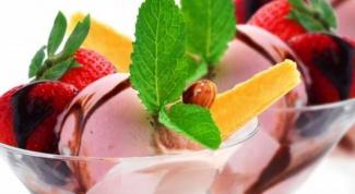 Как приготовить вкусное мороженое в домашних условиях
