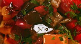 Как приготовить маринованные баклажаны с помидорами и перцем
