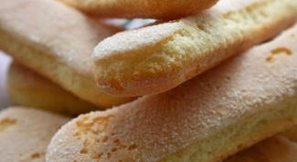 Как приготовить печенье «Дамские пальчики»