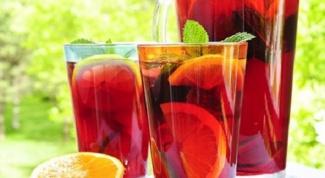 Как приготовить вишневый напиток с зеленым чаем