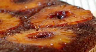 Как приготовить шарлотку с ананасовым соком