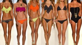 Какие купальники в моде летом 2014