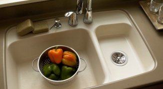 How to choose a sink made of artificial stone