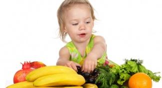 Как составить меню ребенка
