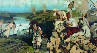 На какие племена делились славяне