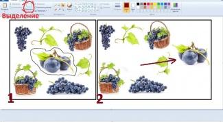 Как вырезать объект в Paint
