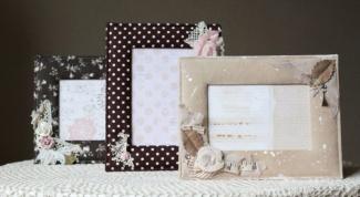 Как декорировать рамку для фотографии