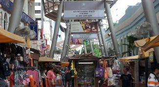 Центральный рынок в Куала Лумпуре
