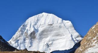 Загадочные факты о горе Кайлас