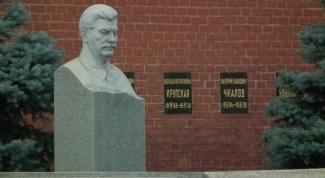 Где похоронен И.В. Сталин