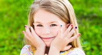 Как делать детский маникюр