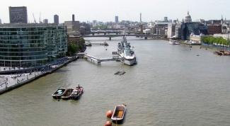Где протекает Темза