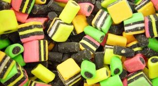 Где появились первые конфеты