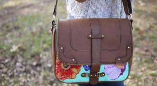 Как обновить старую сумку