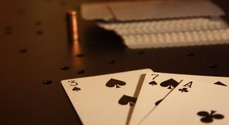 В какую карточную игру играл Герман , герой