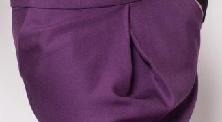 Что надеть с юбкой выше колена