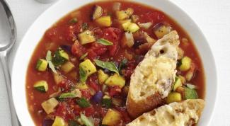 Как готовить суп-рататуй