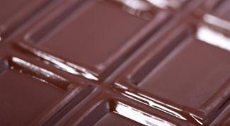 Вред и польза горького шоколада