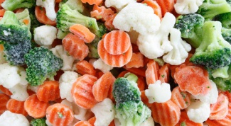 How to cook frozen vegetables in the microwave