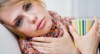 Чем полоскать больное горло