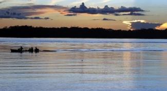 Где находятся самые полноводные реки мира