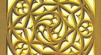 Как рисовать готический орнамент